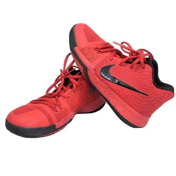 Nike Air Kyrie 3 Red Basketball Shoes